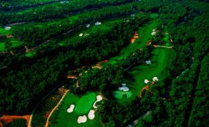 golf en barcelona real club de golf el prat vista area del campo