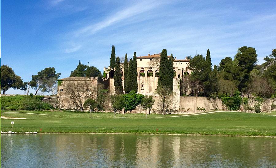 golf en barcelona club de golf la roca manso vilalba y lago