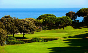 golf en barcelona club de golf llavaneras vistas mar