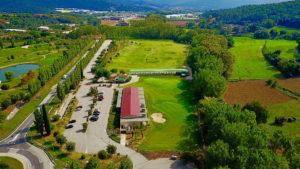 campo de golf la roca vista aerea
