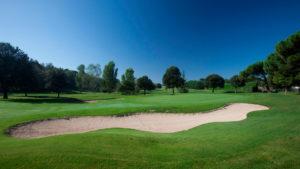 campo de golf montanya bunker