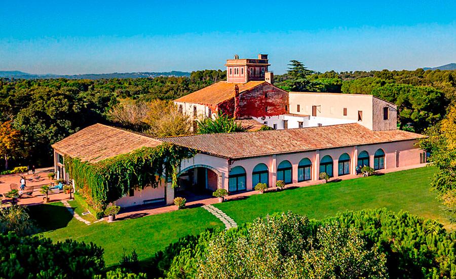golf en barcelona real club de golf el prat vista casa club