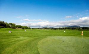 real club de golf el prat practice area