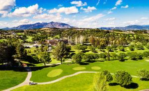 golf en barcelona club de golf barcelona campo vistas a montserrat