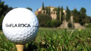 campo de golf la roca pelota de golf