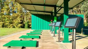 campo de golf la roca zona practicas driving range